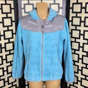 044e8e6aab0e The North Face girls Tiffany blue Denali jacket